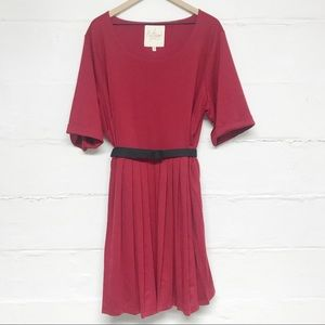 ModCloth Myrtlewood of California Red Dress